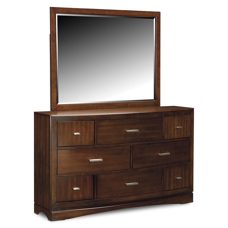 Bedroom Furniture - Toronto Dresser and Mirror