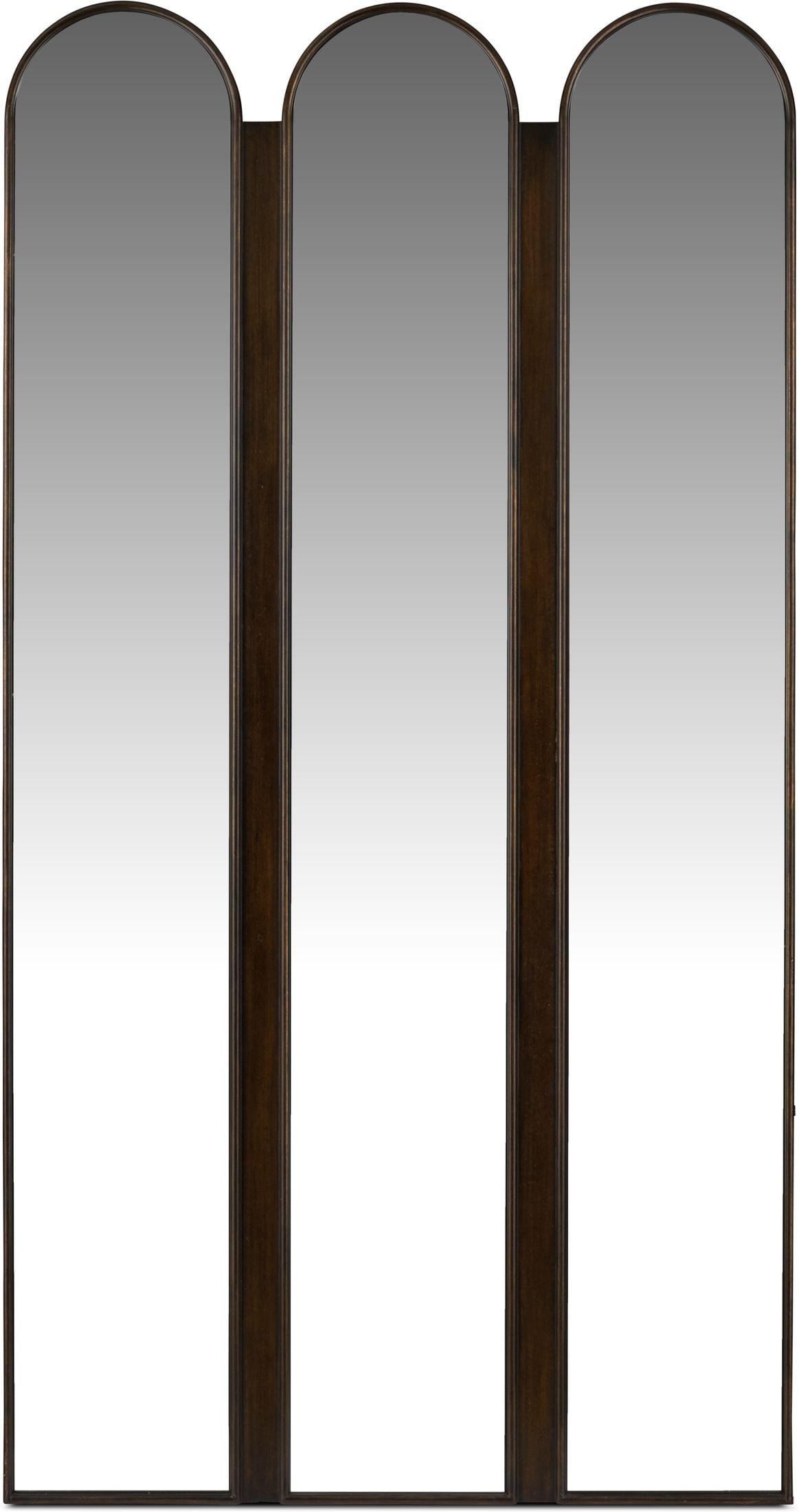 Home Accessories - Tri-panel Floor Mirror