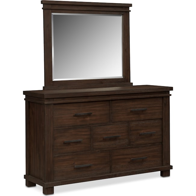 Bedroom Furniture - Tribeca Dresser and Mirror