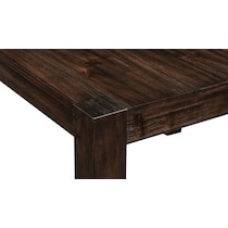 tribeca ch dining dark brown counter height table