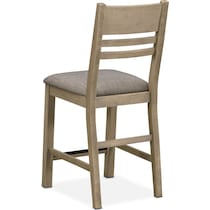 tribeca ch dining gray counter height chair