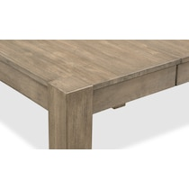 tribeca ch dining gray counter height table