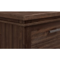 tribeca youth dark brown chest