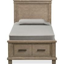 tribeca youth gray full bed