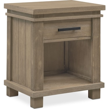 Tribeca Youth Nightstand - Gray