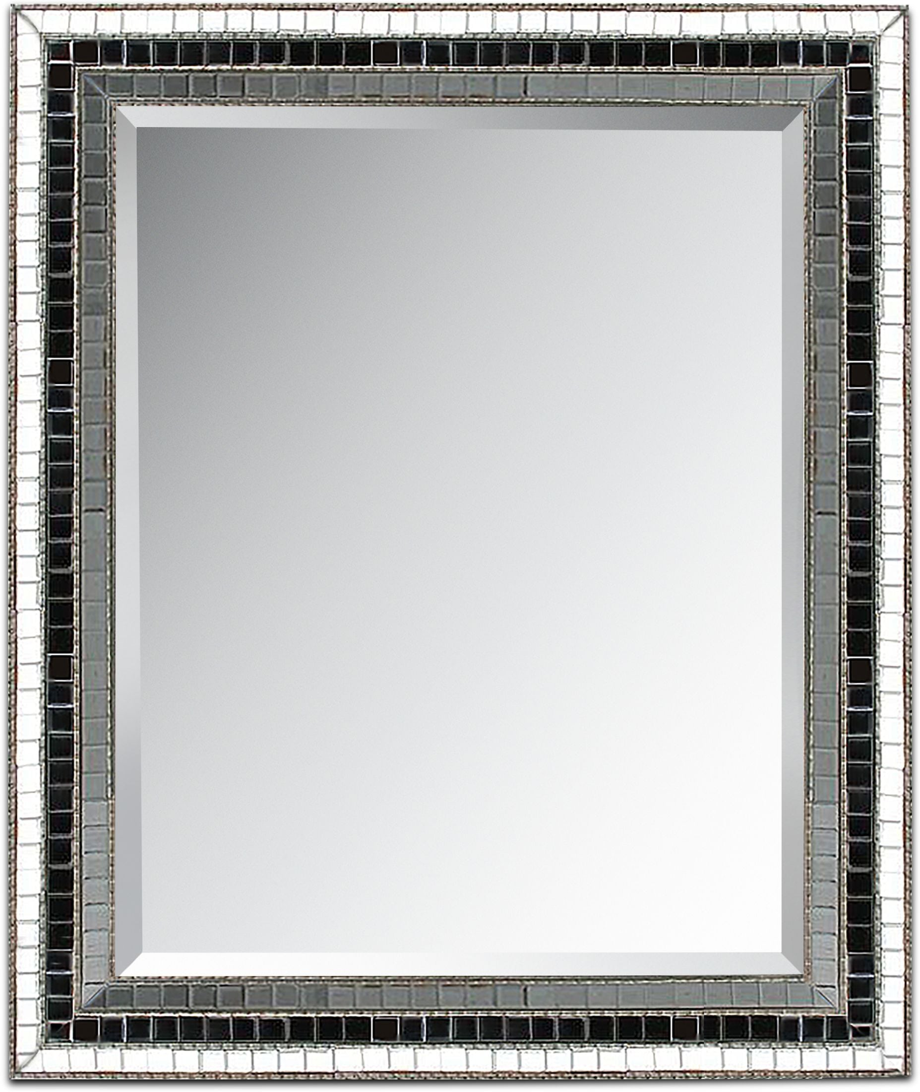 Home Accessories - Triple Mosaic Square Mirror
