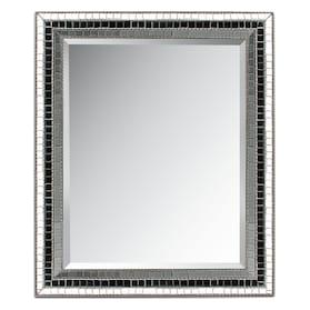 Triple Mosaic Square Mirror