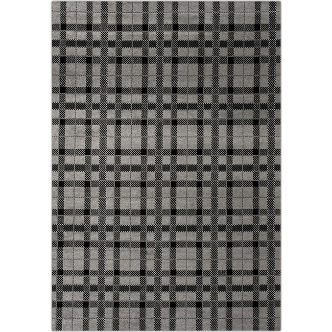 Rugs - Twist Area Rug - Gray