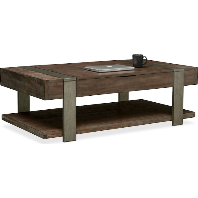 Accent and Occasional Furniture - Union City Lift-Top Coffee Table