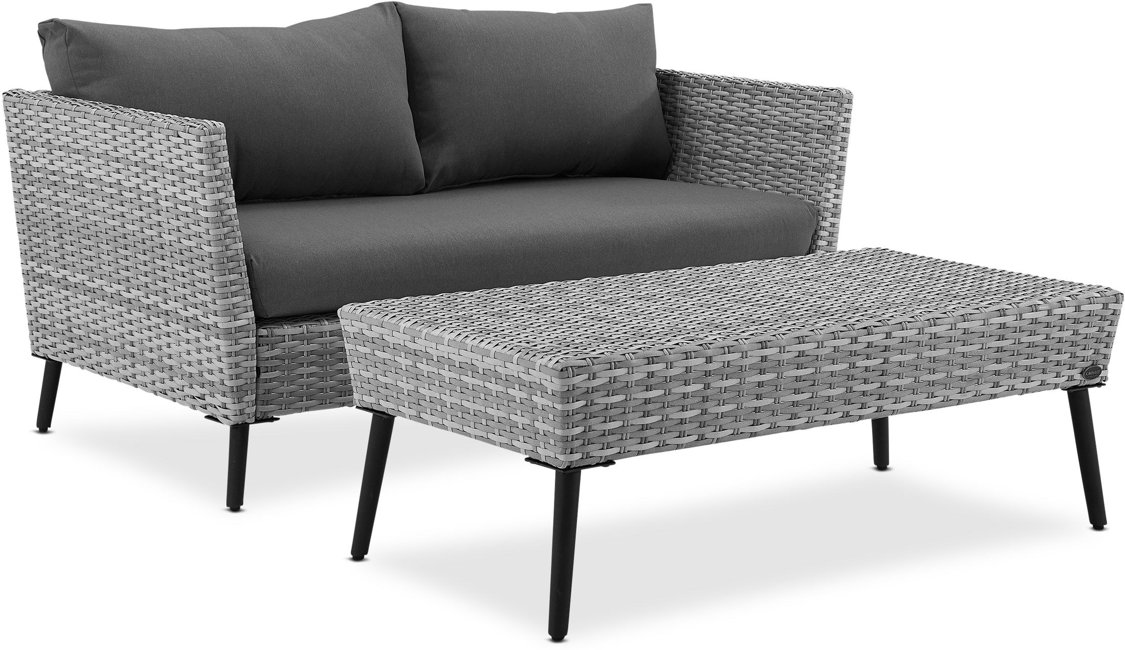 Outdoor Furniture - Ventura Outdoor Loveseat and Coffee Table Set