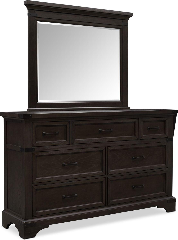 Bedroom Furniture - Victor Dresser and Mirror