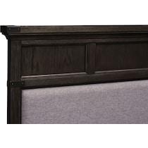 victor gray queen storage bed