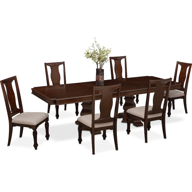 Dining Room Furniture - Vienna Dining Table and 6 Dining Chairs