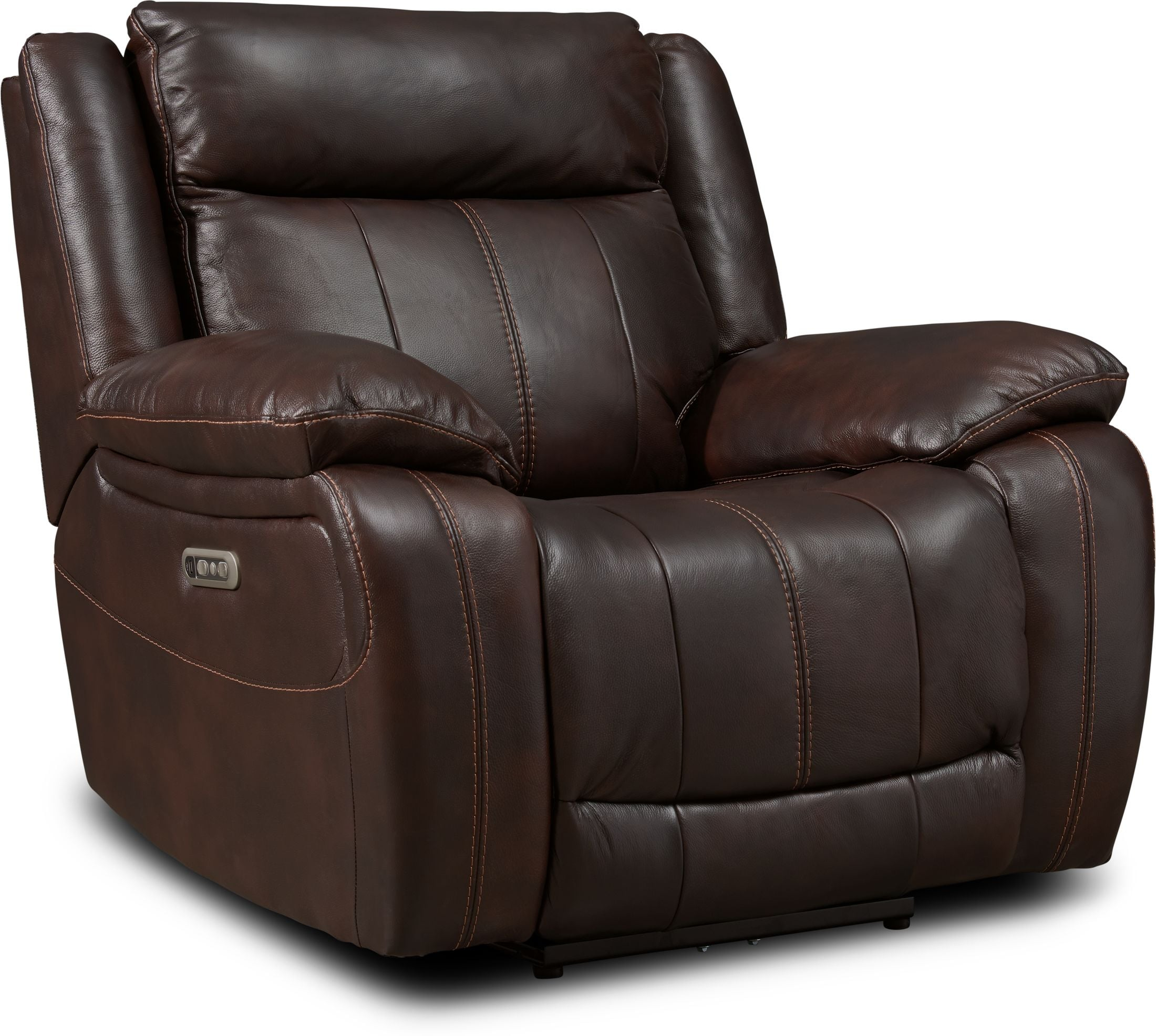 Living Room Furniture - Vince Dual-Power Recliner