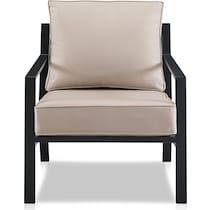 watson light brown outdoor chair set