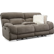 wave collection gray  pc manual reclining living room