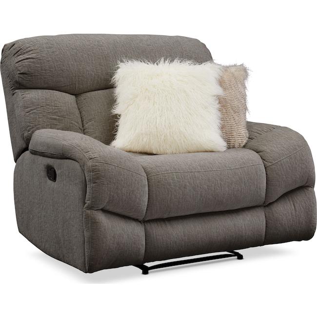 Living Room Furniture - Wave Manual Recliner