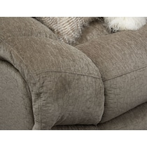 wave collection gray reclining sectional
