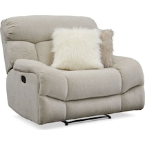 wave collection white  pc manual reclining living room