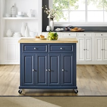 wendy blue kitchen island