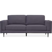 west end gray sofa