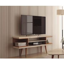 westin off white maple tv stand