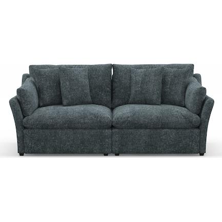 Westport Feathered Comfort 2-Piece Sofa - Contessa Shadow