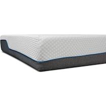 white california king mattress split foundation set