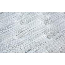 white queen mattress low profile foundation set