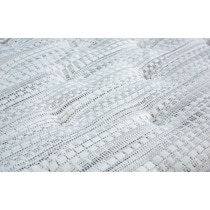 white queen mattress split foundation set