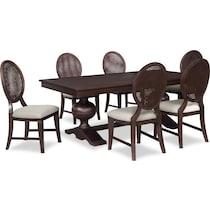 wilder dark brown  pc dining room