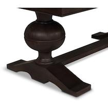 wilder dark brown dining table
