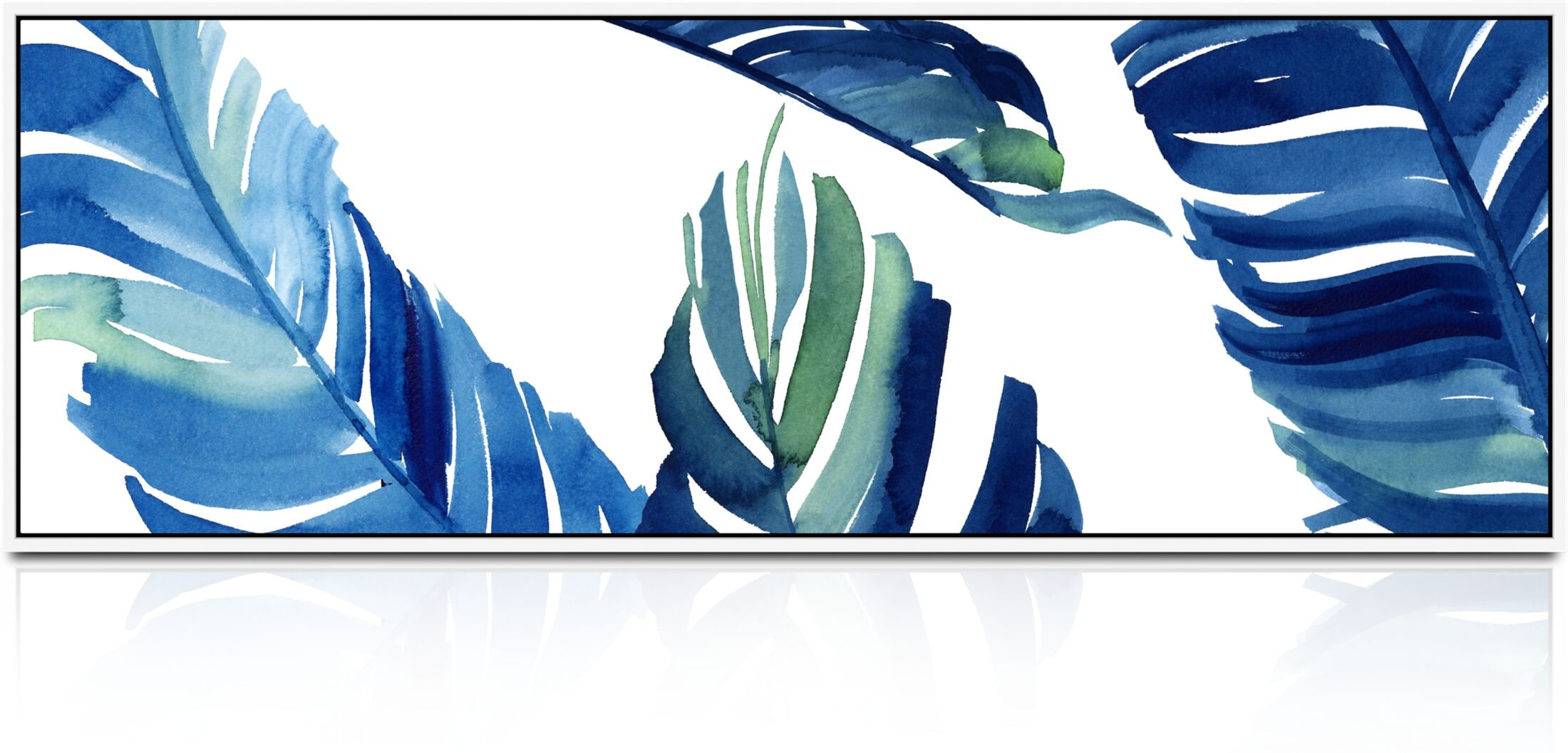 Home Accessories - Windowpane Palms Wall Art