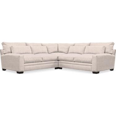 Winston Comfort 3-Piece Sectional - Beige