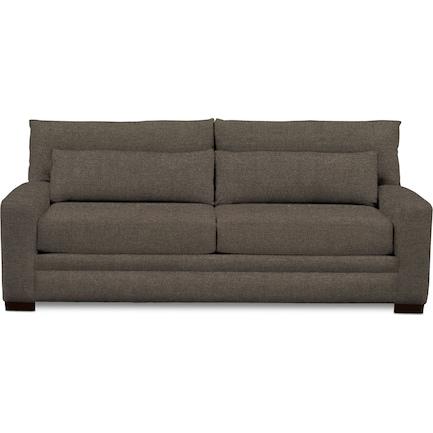 Winston Hybrid Comfort Sofa - Laurent Charcoal