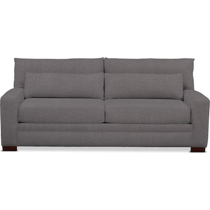 Winston Foam Comfort Performance Fabric Sofa - Benavento Stone