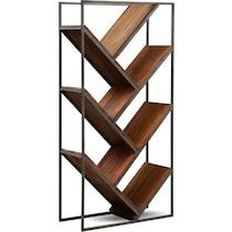 woodford dark brown bookcase