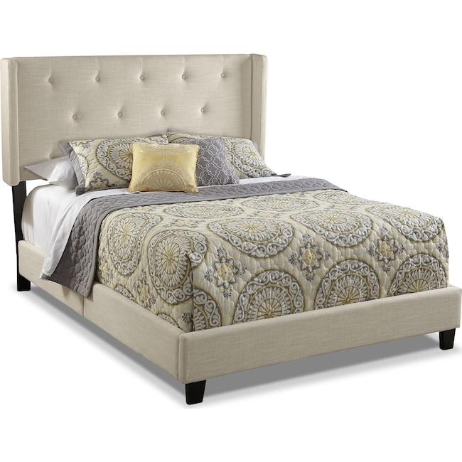 Bedroom Furniture - Wynne Queen Upholstered Bed