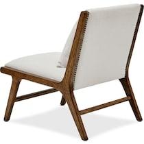 yuma white lounge chair