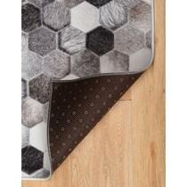 zoid gray area rug ' x '
