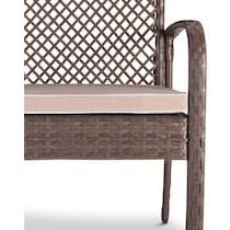 zuma gray outdoor chair